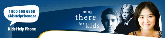 Kids Help Phone - Here For Our Children Since 1989!