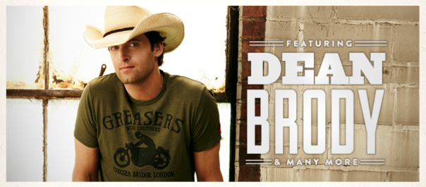 Dean Brody - Boots & Hearts 2013