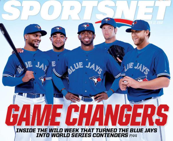 2013 Blue Jays - Sportsnet Magazine Cover