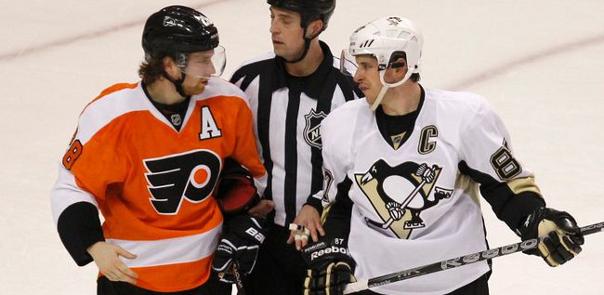 Claude Giroux vs Sidney Crosby