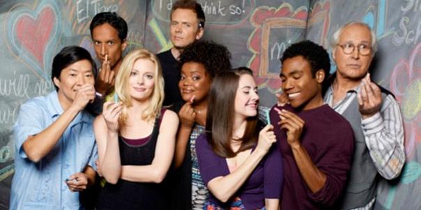 Community Season 4 Cast Photo