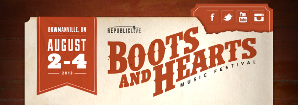 Boots and Heart Countdown Banner