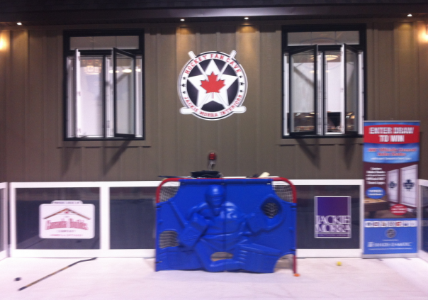 Hockey Fan Cave - National Home Show 2013