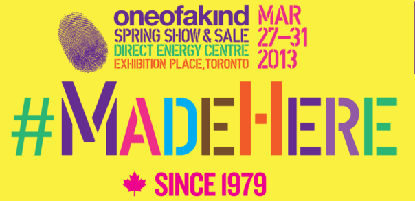 2013 One Of A Kind Spring Show & Sale Banner