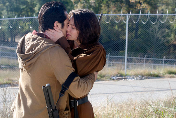 The Walking Dead - Glenn and Maggie, They Found Love In A Hopeless Place