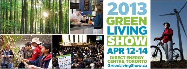 2013 Green Living Show Toronto Banner