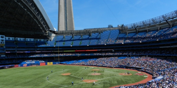 Blue Jays Rogers Centre Roof Open