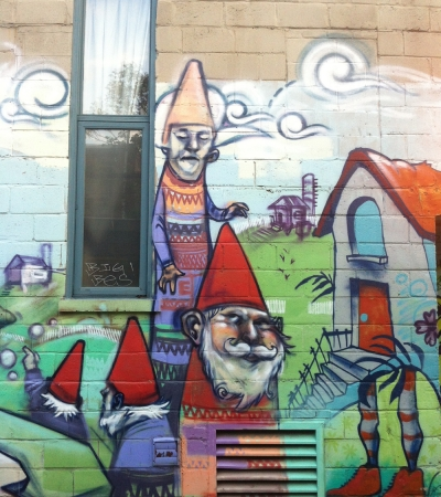 Gang of Gnomes Graffiti Streetart