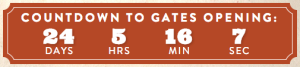 Boots and Hearts 2013 Countdown Clock