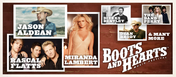 Boots and Hearts Performer Collage