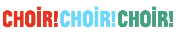 choir choir choir banner