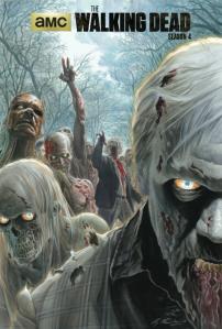 The Walking Dead Season 4 Poster - Alex Ross