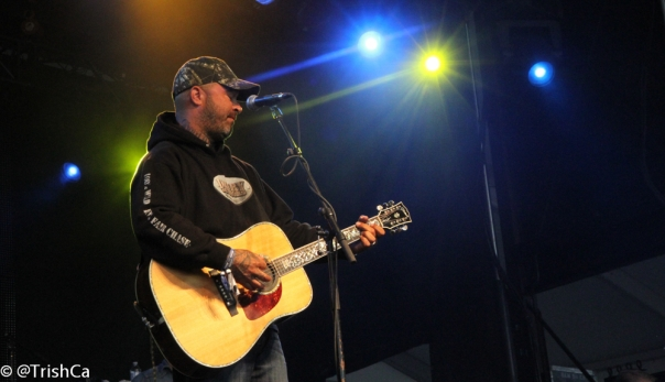 Aaron Lewis at Boots and Hearts 2013 [credit: Trish Cassling]