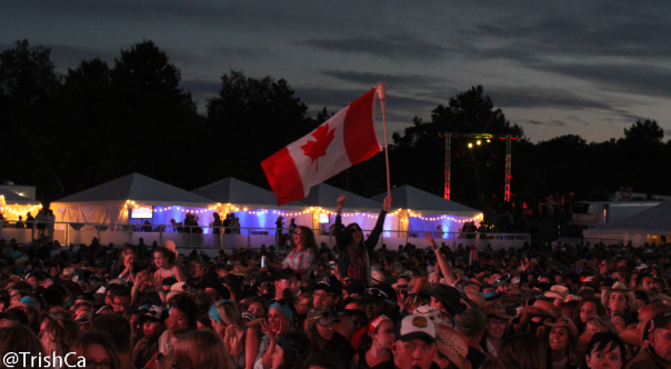 The Boots and Hearts 2013 Crowd - Oh Canada! [credit: Trish Cassling]