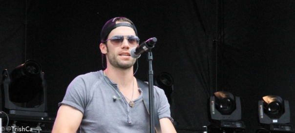 Chad Brownlee at Boots and Hearts 2013 [credit: Trish Cassling]