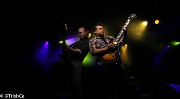 Emerson Drive Guitars and Boots and Hearts 2013 [credit: Trish Cassling]