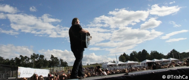 Joe Diffie at Boots and Hearts 2013 Header [credit: Trish Cassling]
