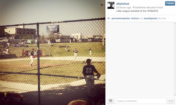 Joshua Instagram CNE Little League Tournament
