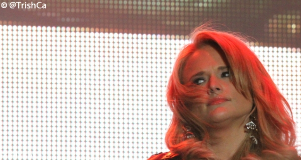 Miranda Lambert at Boots and Hearts 2013 [credit: Trish Cassling]