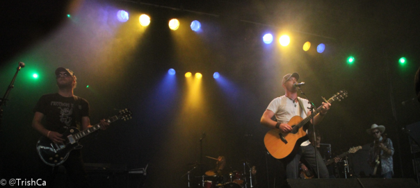 Tim Hicks at Boots and Hearts 2013 [credit: Trish Cassling]