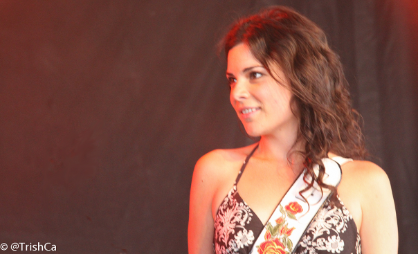 Whitney Rose at Boots and Hearts 2013 [credit: Trish Cassling]