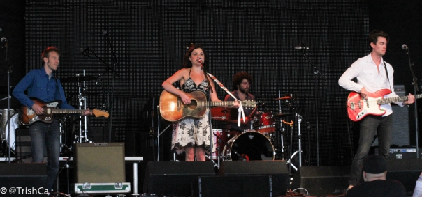 Whitney Rose Band at Boots and Hearts 2013 [credit: Trish Cassling]