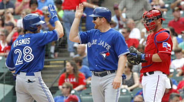 Adam Lind and Colby Rasmus 2013 Blue Jays