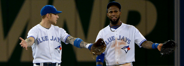 Brett Lawrie and Jose Reyes 2013 Blue Jays