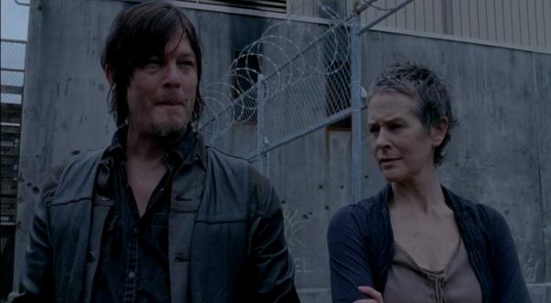 Daryl and Carol The Walking Dead Season 4