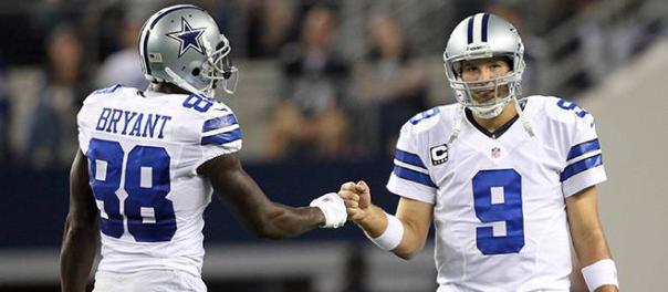 Dez Bryant and Tony Romo - Dallas Cowboys 2013