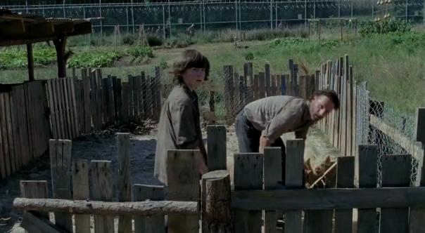 Rick and Carl The Walking Dead Season 4