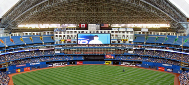Rogers Centre Outfield
