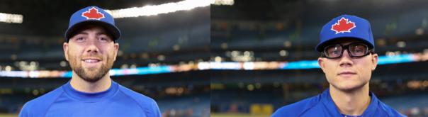 Steve Delabar and Brett Cecil 2013 Blue Jays