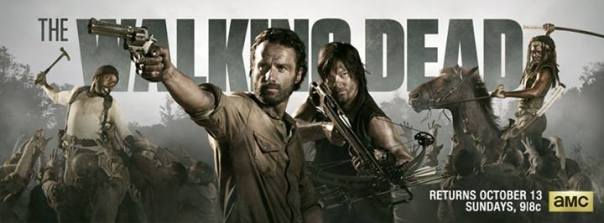 The Walking Dead Season 4 - AMC October 13