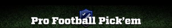 Yahoo Pro Football Pick Em Banner