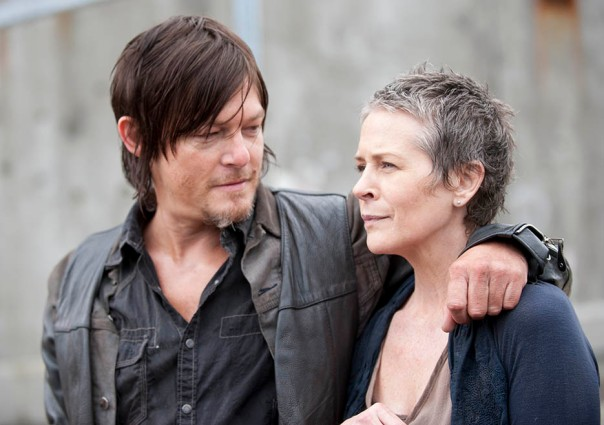 Daryl and Carol The Walking Dead Season 4 Preview