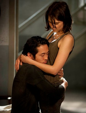 Glenn and Maggie The Walking Dead Season 4 Preview