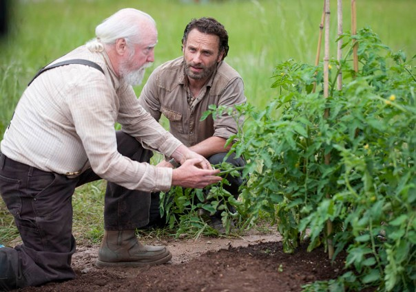 Hershel and Rick The Walking Dead Season 4 Preview