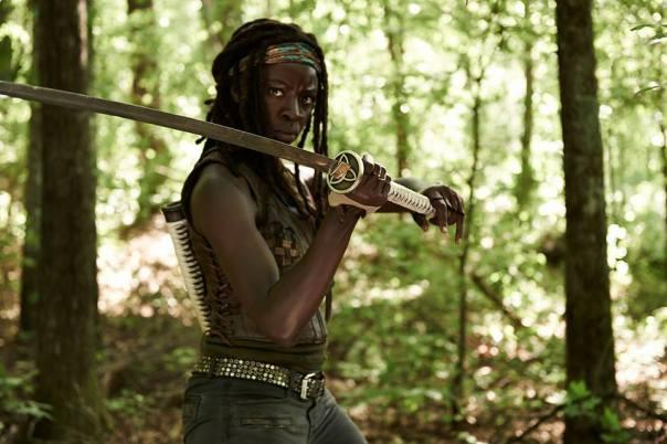 Michonne The Walking Dead Season 4 Preview