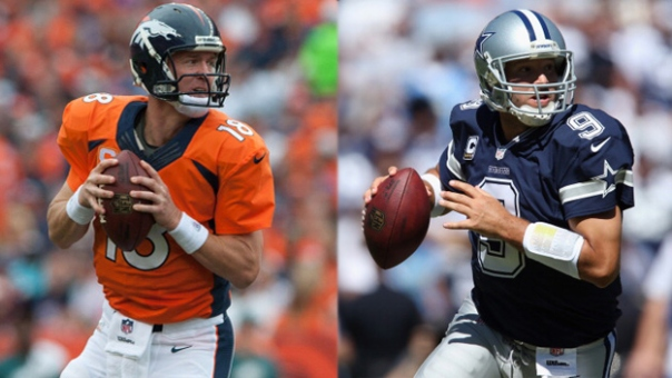 Peyton Manning vs Tony Romo - NFL Week 5