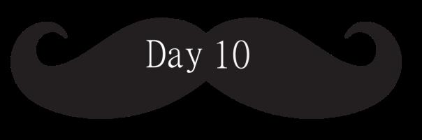 Moustache Banner Day 10