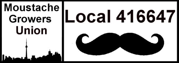 Moustache Union Logo Banner - Movember Journal 2013