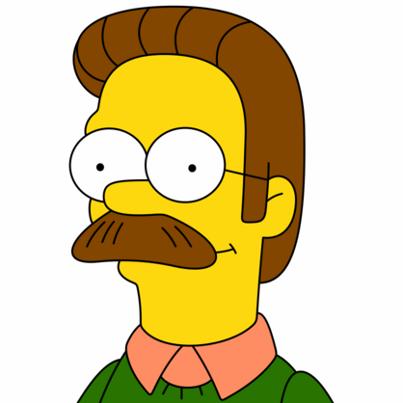 Ned Flanders Moustache