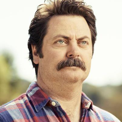 Nick Offerman Moustache