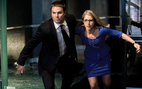 Ollie and Felicity - Arrow Season 2