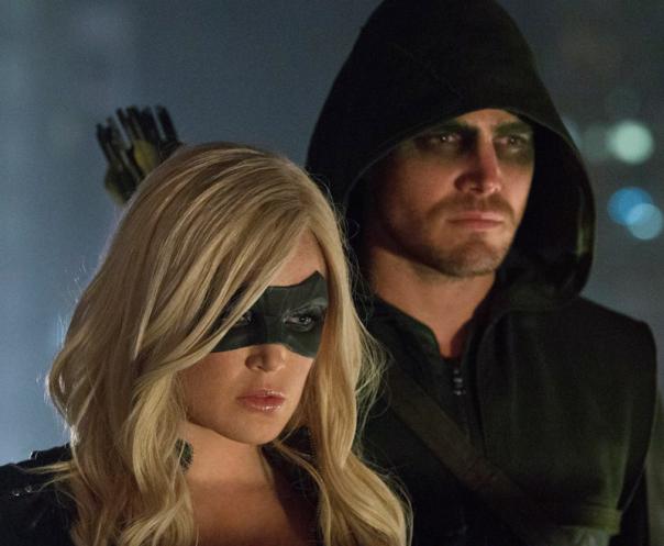 Ollie and Sara - Arrow Season 2