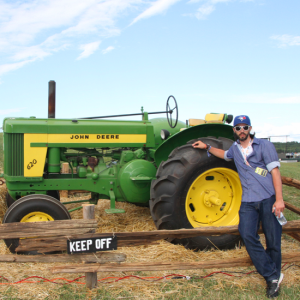 I Can Take You For A Ride On My Big Green Tractor