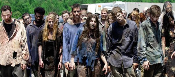 Line Up Of Walkers