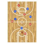 Basketball Coach Clipboard Play