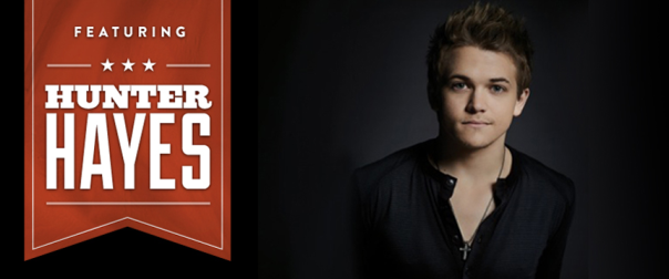 Hunter Hayes Boots and Hearts 2014